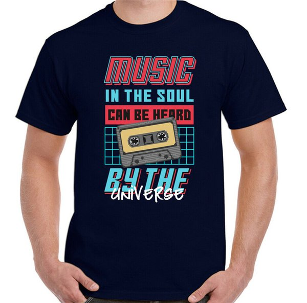 In The Soul Mens Funny Retro T-Shirt Cassette 80S 90S Pop Dance Dj Top High Quality Tee Shirt