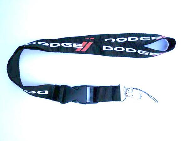 DODGE Logo Car Portachiavi corsa Keyching telefonica della scheda cordino porta accessori 10pcs