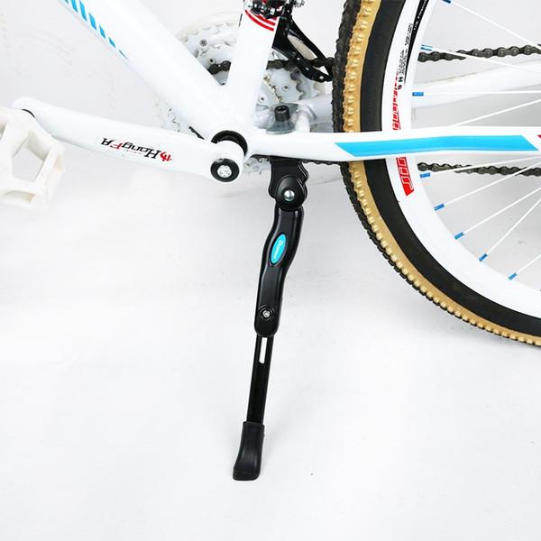 Alüminyum Alaşım Bisiklet Yan Destek Bisiklet Ayak Brace Dağ Bisikleti Mtb Kickstand Destek Bisiklet Kick Ayarlanabilir 32-36 cm # 80262 Standı