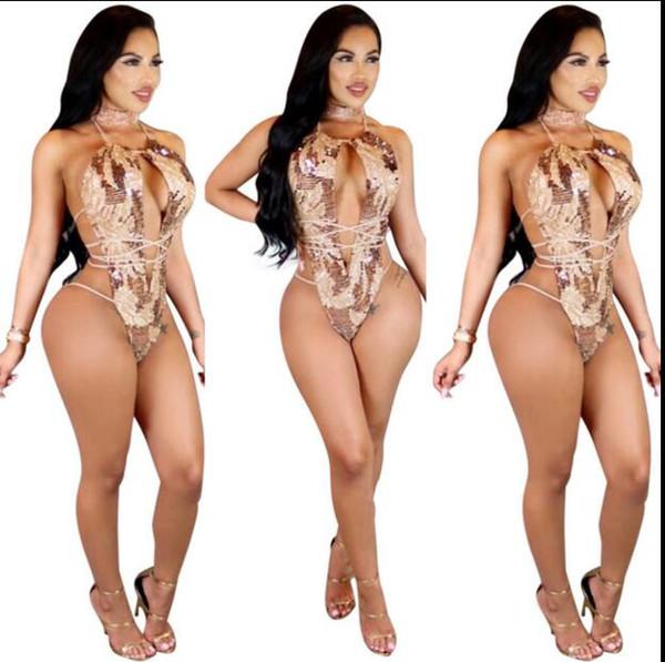 Sexy envolto cintas de peito impresso one-piece beachwear boate roupas fatos de treino das mulheres macacões macacões mulheres sexy curto calça