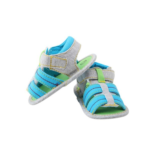 Infant Baby Boys Girls Summer Anti-Slip Soft Sole Crib Shoes Toddler Sandals A