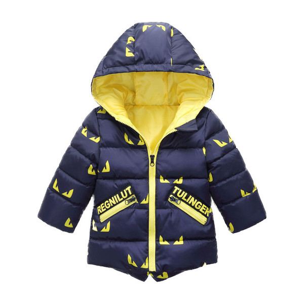 good quality boys winter coats cartoon warm thicken down&parkas children boys casual hooded snowsuits boys sports outerwear clothing