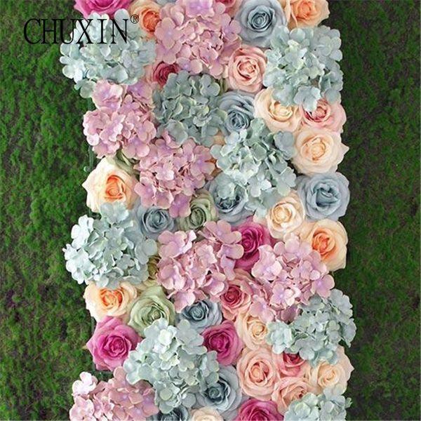 Decorations Artificial Dried Flowers Oil painting silk rose heads flower decorative wedding DIY flower wall arrangement decoration 5pcs...