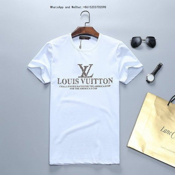 2019 Summer Fashion Quick-drying Exquisite Leisure Time Men Short Sleeve T shirts for T-shirt 3D Printing Youth 0308