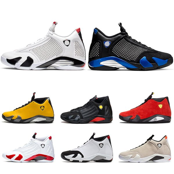 14s Men Basketball Shoes 14 Candy Cane The Last Shot Desert Sand DMP Black Toe Indiglo Thunder Mens Sports Trainers Sneakers Size 8-13