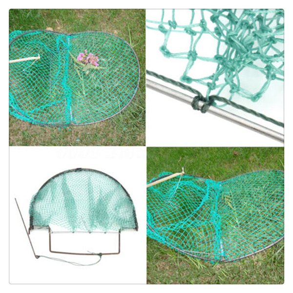 Folding Mesh Net Live Trap for Bird Pigeon Sparrow Humane Trapping Hunting Tool