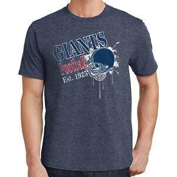 Футболка Giants Football Нью-Йорк Спорт 3176