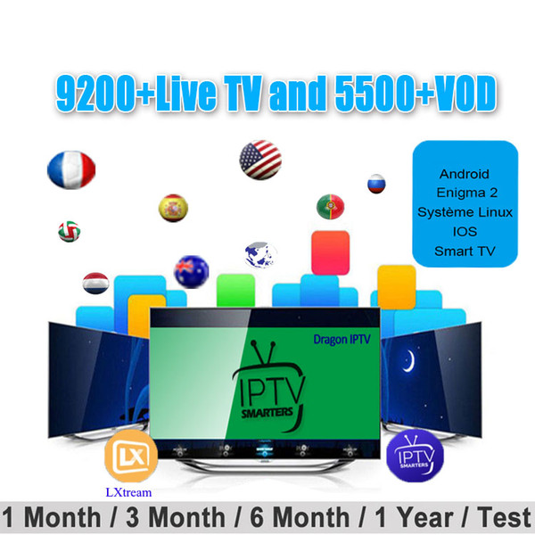 Mundo IPTV Subscription Europa Espanha Itália Portugal Árabe França EUA Reino Unido Holanda Austrália Africano IPTV para mag androd box smart tv