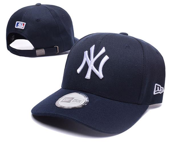 top popular 2019 Hot Sale Mens & Womens New York baseball ball cap Yankees baseball Hats Snapbacks High quality knit Sports designer Hats Caps 2019