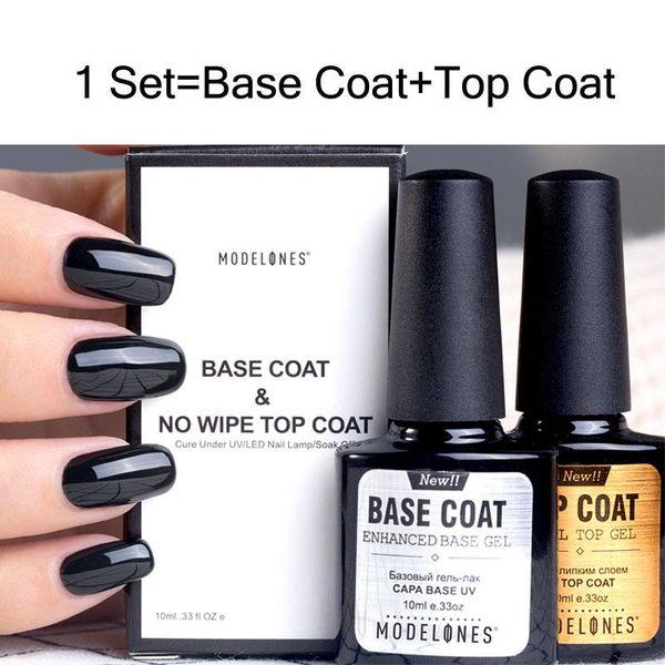 Nail Kit 10ml Base Top Coat Set Nail Gel Polish Long Lasting At Home Gel Manicure Gel Nail Polish Brands From Models Own 8 12 Dhgate Com