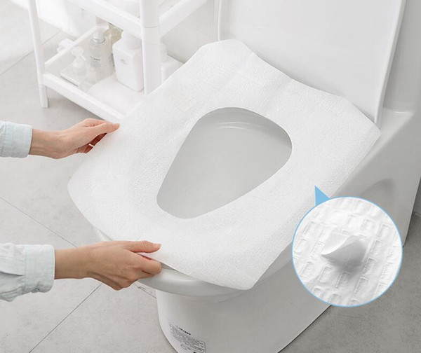 Astounding 2019 High Quality Disposable Hotel Toilet Cushion Travel Paper Portable Sticking Single Piece Set Toilet Cover Toilet Seat Mat From Homeshops 1 31 Ibusinesslaw Wood Chair Design Ideas Ibusinesslaworg
