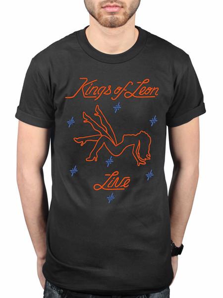 Camiseta oficial de Kings Of Leon Stripper por el ventilador mecánico Bull de The Times