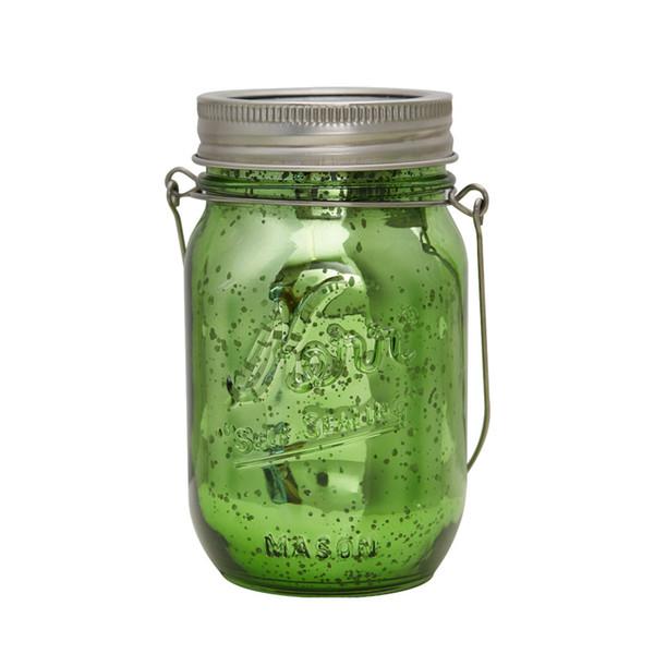 144 UNIDS SOLAR Luz de energía colorida Fairy Mason Jar Luz decorativa para luces de Navidad de jardín interior Mason Jar