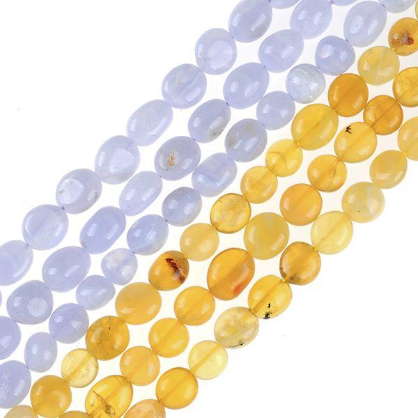 Natural Irregular yellow opal purple agates carnelian Gravel Loose strand stone beads 8*10mm DIY for Jewelry Making Bracelets