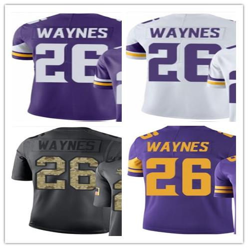 best sneakers ba42b 7a72a 2019 Wholesale 2018 Minnesota Vikings Sport Baseball Clothing 26 Trae  Waynes Men/WOMEN/YOUTH Outdoor Clothing Legend Baseball Jersey From ...
