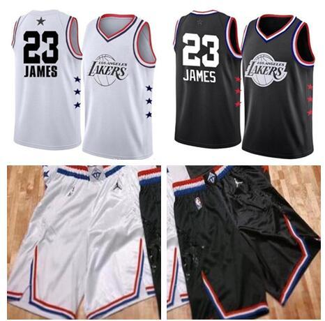detailed look 7c352 0c3fe 2019 LeBron James 2019 All Star Laker Basketball Los ...