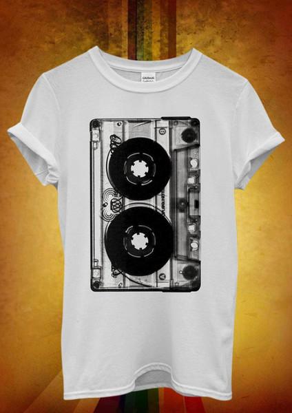 Cassette Retro Vintage cool Hipster hommes unisexe T-shirt Débardeur Gilet 460