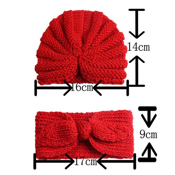 Kinder Baby Mädchen Jungen Bogen Turban Hut Kopf Wickeln Hijab Stirnband Kappe