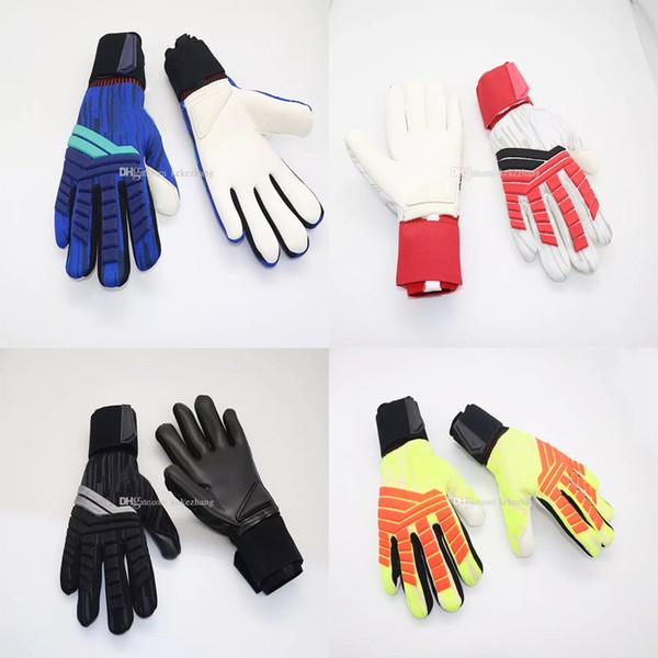 best selling Predator Allround Latex Soccer Professional Goalkeeper Gloves Goalie without fingersave