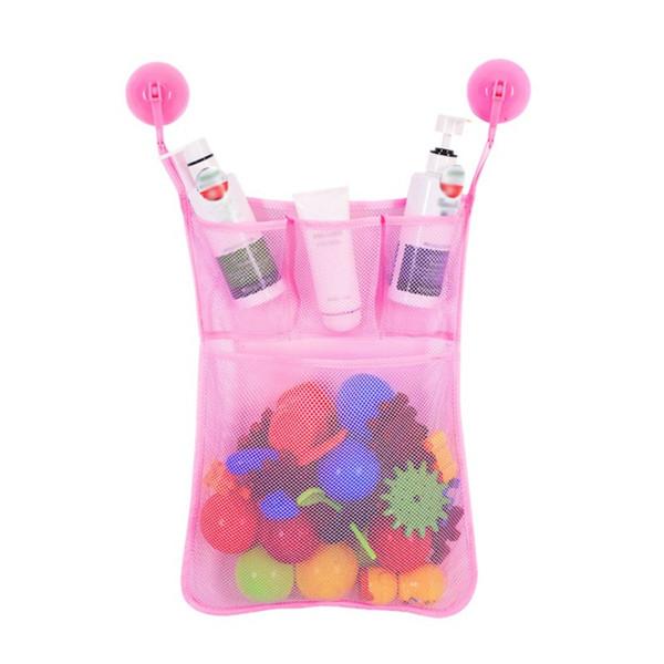 Baby Kids Bathroom Bathtub bags Organizer Toy Mesh Net Storage Bag Organizer Holder Stuff Tidy