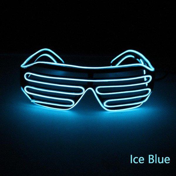 le bleu de la glace