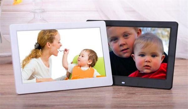 Digital Photo Frames 12 inch TFT LCD Wide Screen Desktop Digital Photo Frame Glass Photo Frame