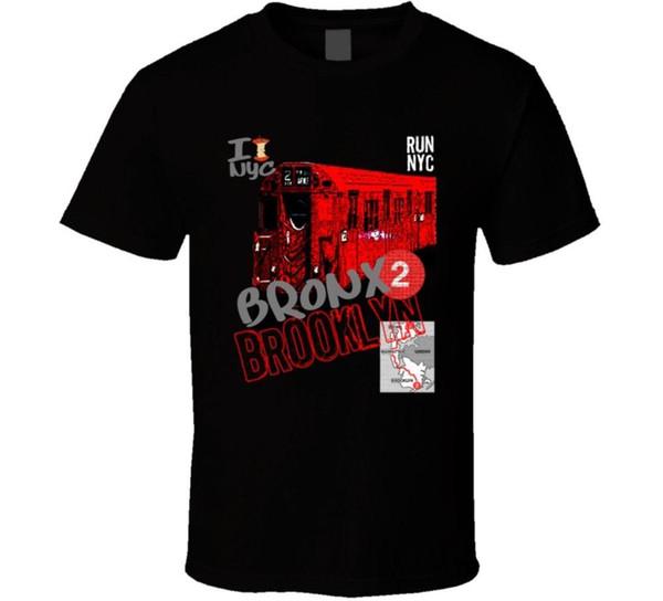 Nyc Bronx 2 Brooklyn Hip Hop Rap Run T Shirt T shirt