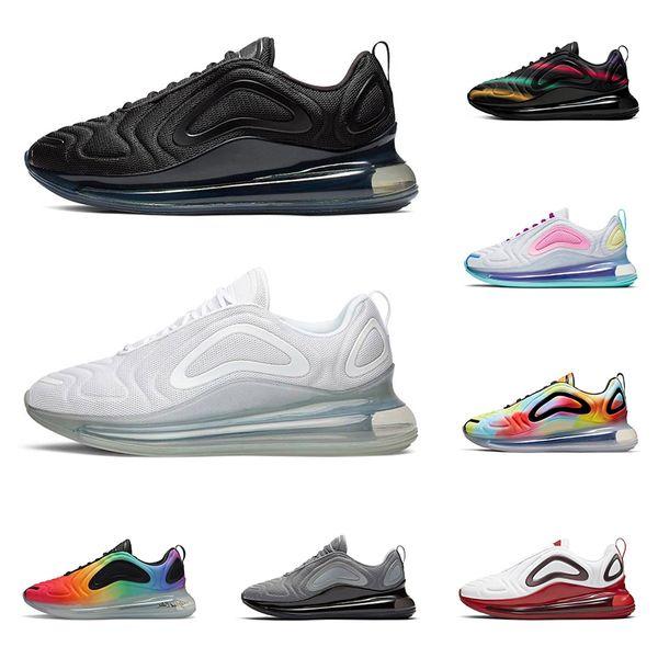 2020 nike air max airmax 720 scarpe da corsa per uomo donna triple nero bianco cool grey be true Tie Dye orgoglio da uomo traspirante sneaker sportive di moda