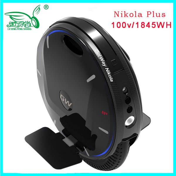 best selling 2019 Newest super Gotway Nikola electric unicycle monowheel,one wheel scooter 84V 2100WH,2000W motor,max 55km h Upgraded version