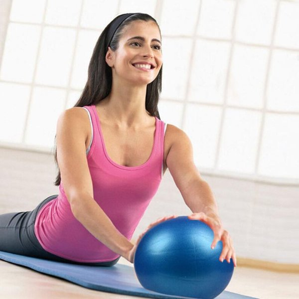 25CM Lacrosse Ball Fitness Massage Relieve Gym Fitness Lacrosse Ball Training Fascia Hockey Unisex Yoga Balls For