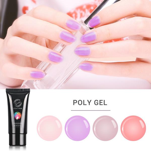 Gelike 60g Building Finger Extension Poly Gel Nail Art Decorations Crystal Jelly UV Gel Camouflage Nail Builder Gel