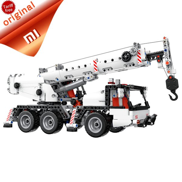 mart Remote Control Original Xiaomi Mitu Building Blocks Engineering Car Mi Blocks Vehicles Truck Simulation reduction Truck multi Engine...