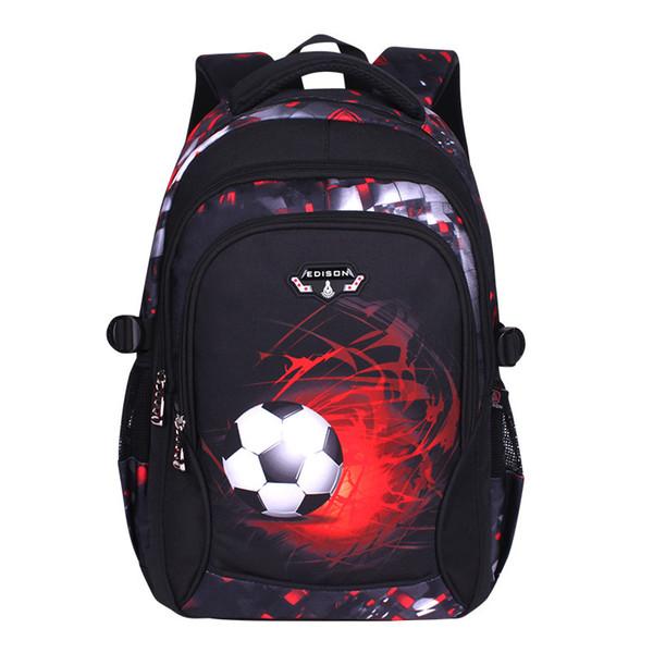 LOOZYKIT Neue Fußball Jugendliche Schultaschen Student Laptop Rucksack Für Mädchen Jungen Kinder Bookbag Wasserdichte Reise Daypack