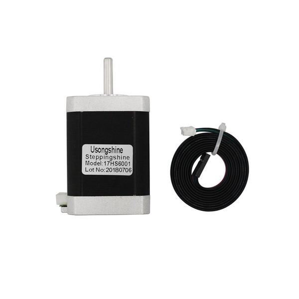 17HS6001 Motor de 4 pasos Nema 17 Paso a paso 42 Motor 42BYGH 60MM 1.5A 0.8N.m 1m Cable CE CNC Laser e impresora 3D