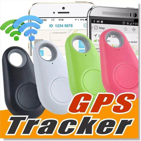 Mini Wireless Phone Bluetooth 4.0 No GPS Tracker Alarm iTag Key Finder Voice Recording Anti-lost Selfie Shutter ios Android Smartphone DHL