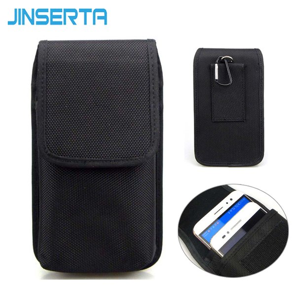premium selection a398d 00831 Wholesale Double Cell Phone Waist Pack For Iphone 6s Plus 5.5 Inch Nylon  Pouch Bag With Belt Clip Holster Case For Samsung Note 5 Customized Cell ...