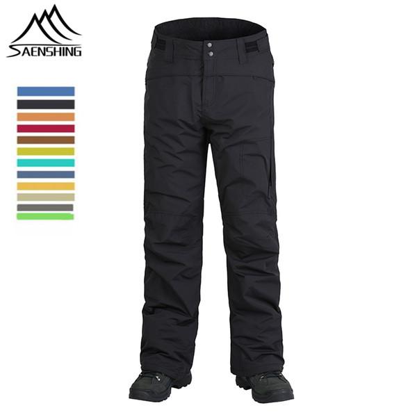 Nouvelle marque femmes hommes hiver pantalons de snowboard en plein air neige thermique pantalons épaississent la chaleur ski pantalon imperméable vêtements coupe-vent