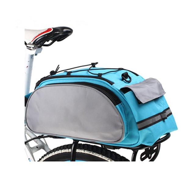 Cycling Luggage Bicycle Carrier Bag Bike Rack Pannier Trunk Basket Back Seat Shelf Pouch Shoulder Handbag