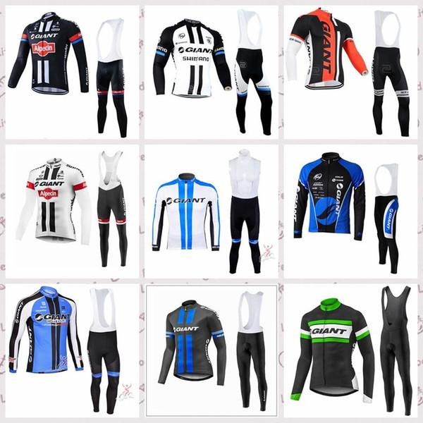 hombre de manga larga nueva llegada MTB bicicleta ciclismo maillot ropa hombre GIGANTE jerseys de ciclo de juego de ciclo lzfboss5 ropa desgaste de la bicicleta
