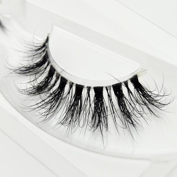 Lashes 3d Eyelashes Invisible Band Natural Black False Eyelash Full Strip Cilios Posticos Reusable F42