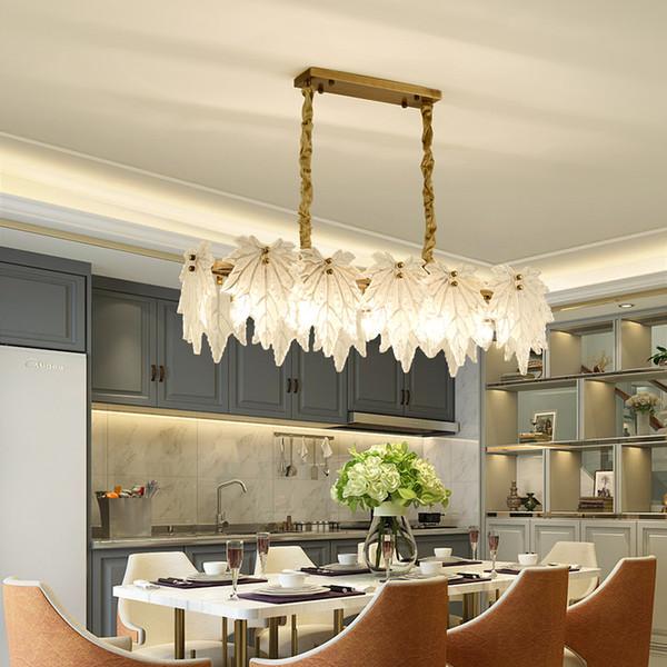 Modern Crystal Chandelier Light Rectangular LED Crystal Light Living Room  Chandeliers Bar Ceiling Pendant Lighting Fixtures E14 Lamp Ceiling Pendant  ...