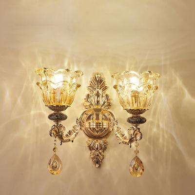 2 light wall lamp