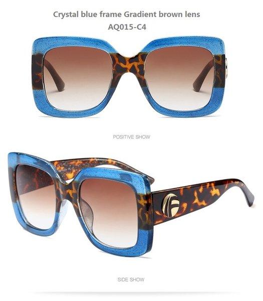 Couleur de lentilles: AQ015-C4
