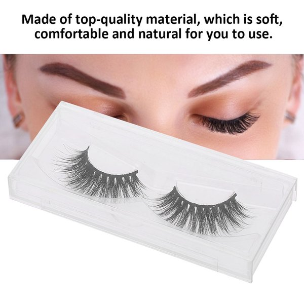3D Mink False Eyelashes Extension Natural Long False Lashes Fur Eyelash Thick Fake Eyelashes Makeup Eye lashes Tools