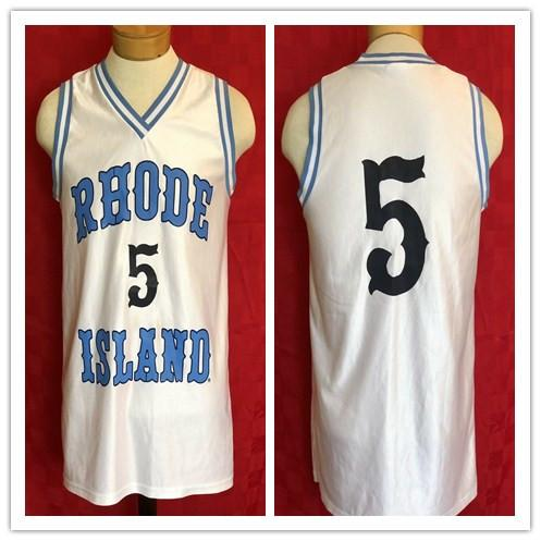 promo code 3cabb 35bc6 2019 Custom Made Rare University Of Rhode Island Rams NCAA Basketball  Jersey #5 Man Youth Jerseys Every Name Number S 5XL From Aiyin8606, $58.89  | ...