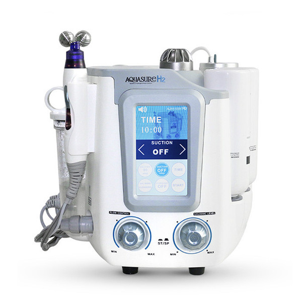 3 in 1 Hydra Facial Hydro Dermabrasion Micro Current Hydrogen Hydra Galvanic Skin Rejuveation Beauty Equipment