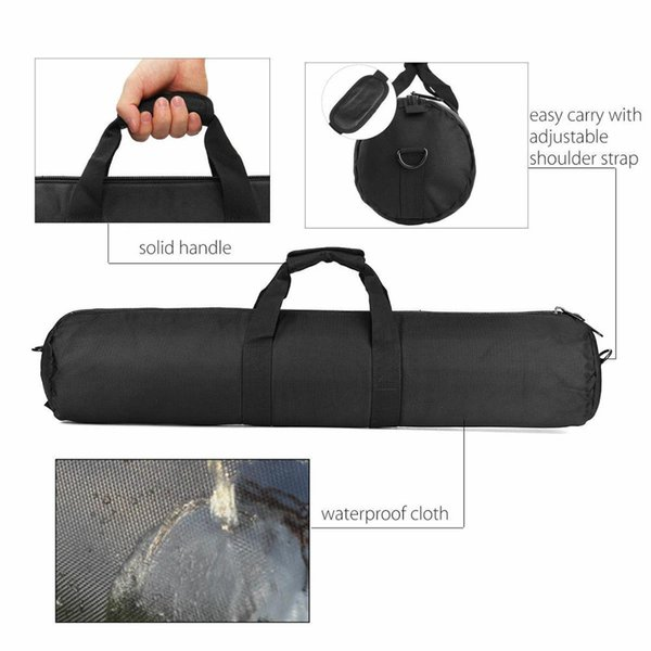 Acolchado estuche bolsa de transporte de Trípode Soporte de Luz