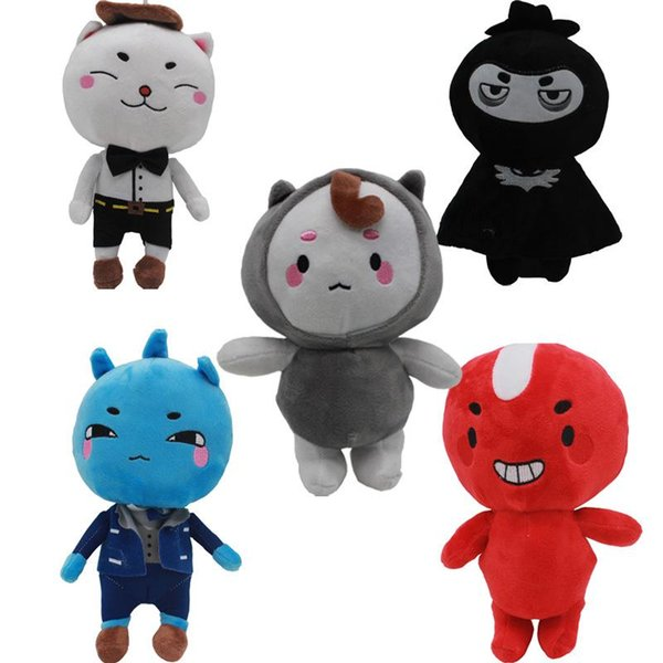 20cm(7.8 inches) Korea Dokkaebi God Alone And Brilliant Goblin Plush Toys Kids Soft Stuffed Dolls Toys for Children