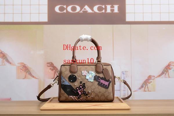 Zaino in spalla moda uomini e donne 2019 zaino in pelle morbida Elegante bella scuola di alta qualità borsa per il tempo libero crossbody bag co-a2