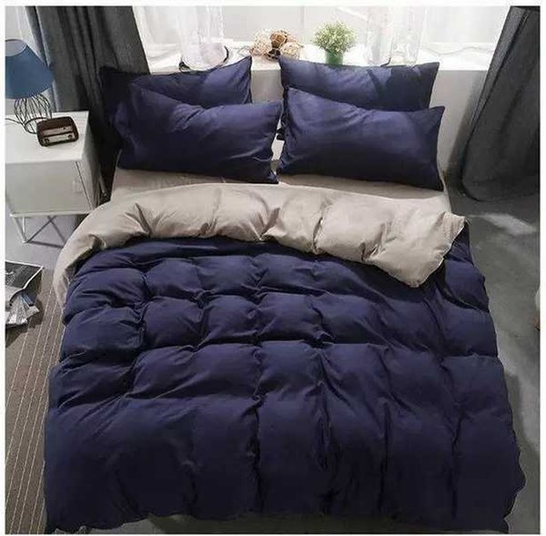 Luxury Home textiles quilt cover pillowcase sets warm soft Crystal velvet classic cotton Set for many size bed 4pcs/set HTP5